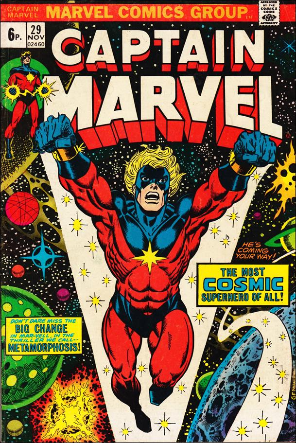 Captain Marvel (1968) 29-B by Marvel