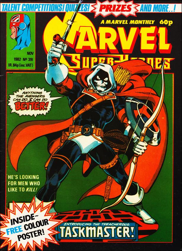 Marvel Superheroes (UK) 391-A by Marvel UK