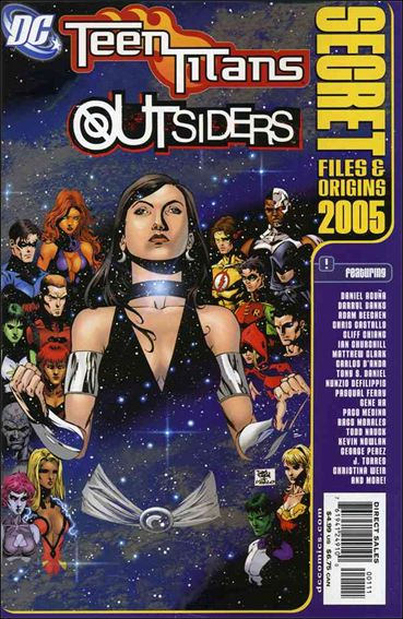 Teen Titans/Outsiders: Secret Files and Origins 2005-A by DC