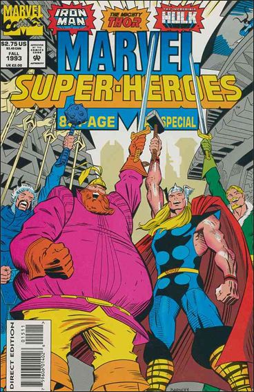 Marvel Super-Heroes (1990) Fall 1993-A by Marvel