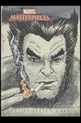 2007 Marvel Masterpieces (Sketch Card Subset) SM-A