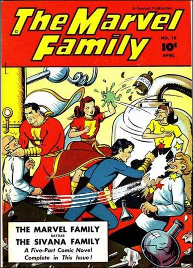 Marvel Family 10-A by Fawcett