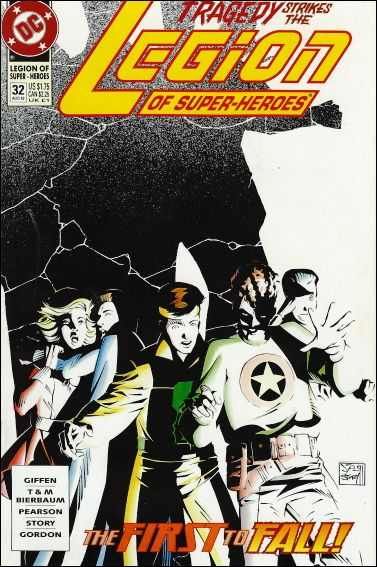 Legion of Super-Heroes (1989) 32-A by DC