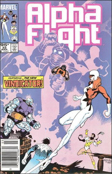 Alpha Flight (1983) 32-B by Marvel