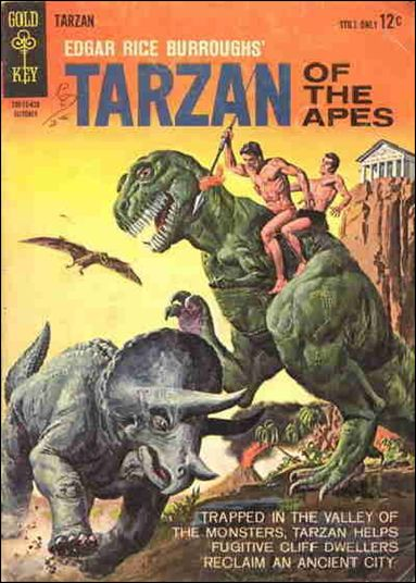Tarzan (1962) 146-A by Gold Key
