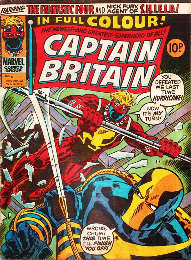 Captain Britain (UK) (1976) 5-A by Marvel UK