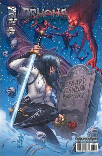 Grimm Fairy Tales Presents Demons: The Unseen 3-B by Zenescope Entertainment