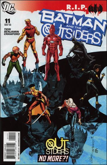 Batman and the Outsiders (2007) 11-A by DC
