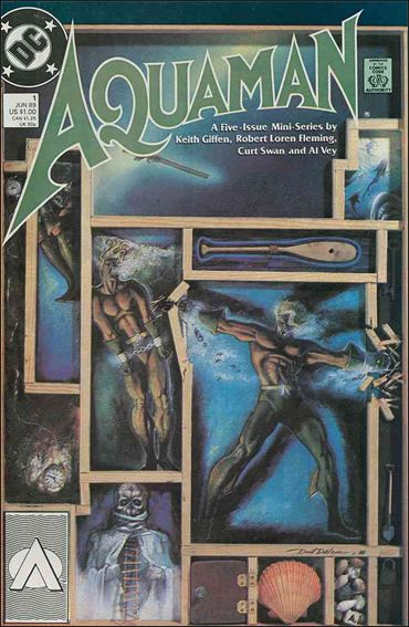 Aquaman (1989) 1-A by DC