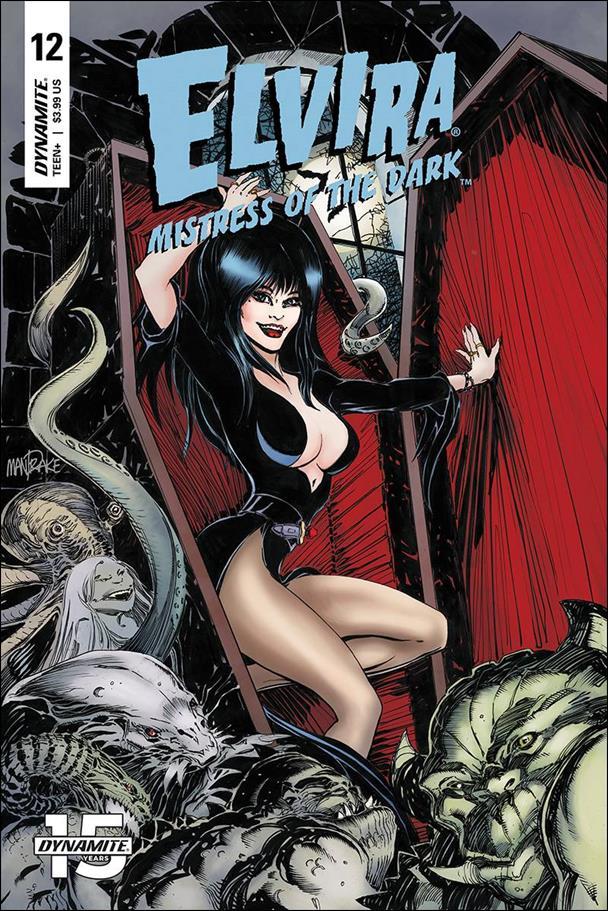 Elvira, Mistress of the Dark (2018) 12-A by Dynamite Entertainment