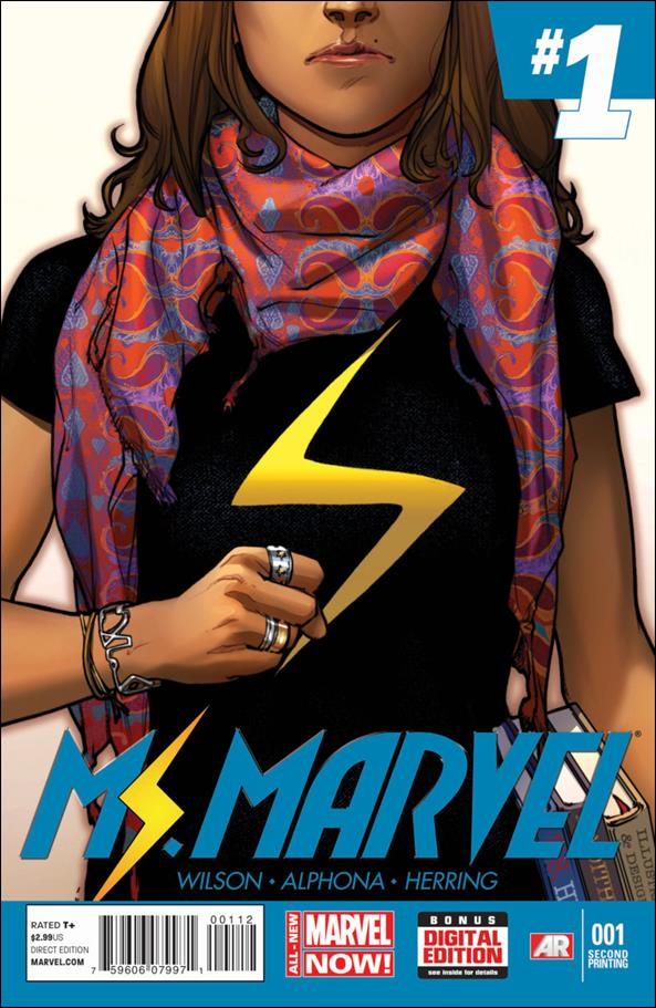 Ms. Marvel (2014)  1-E by Marvel