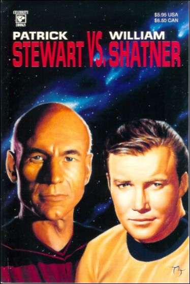 Patrick Stewart vs William Shatner 1-A by Celebrity Comics
