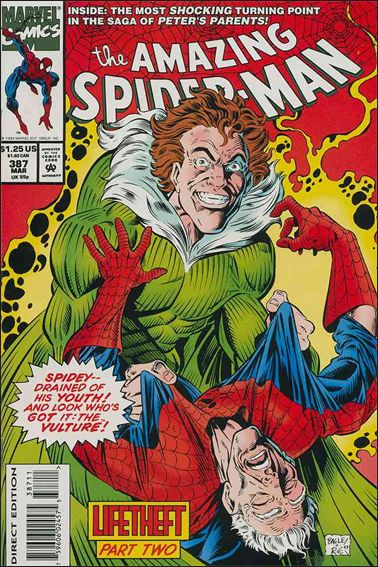 Amazing Spider-Man (1963) 387-A by Marvel
