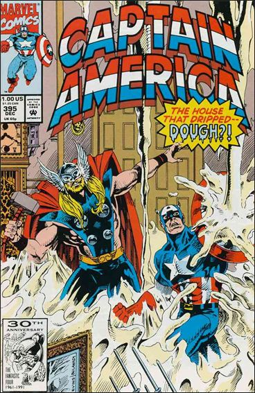 Captain America (1968) 395-A by Marvel