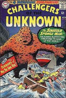 Challengers of the Unknown (1958) 47-A by DC