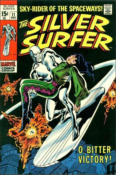 Silver Surfer (1968) 11-A by Marvel