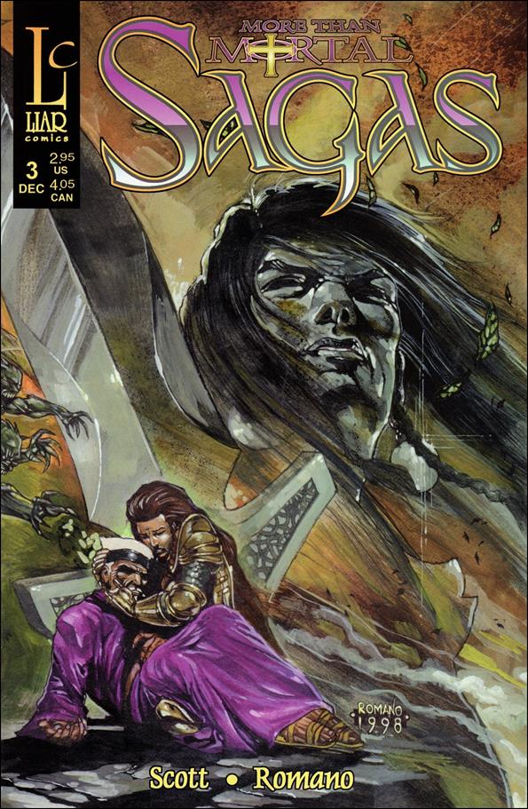 More Than Mortal: Sagas 3-A by Liar Comics