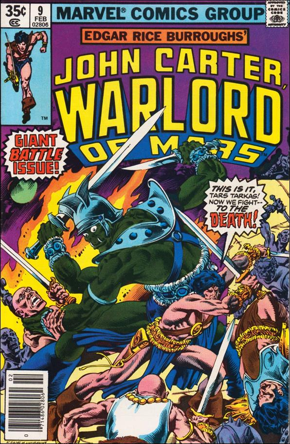 John Carter, Warlord of Mars (1977) 9-A by Marvel