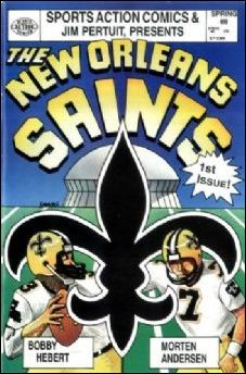 New Orleans Saints 1-A by Sports Action Comics