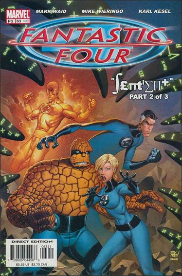 Fantastic Four (1998) 63-A by Marvel