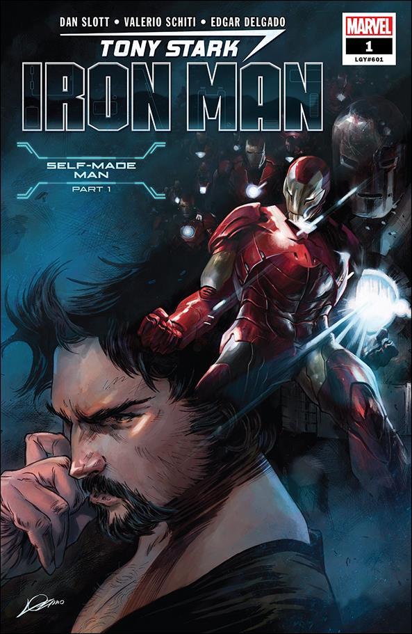 Tony Stark: Iron Man 1-A by Marvel