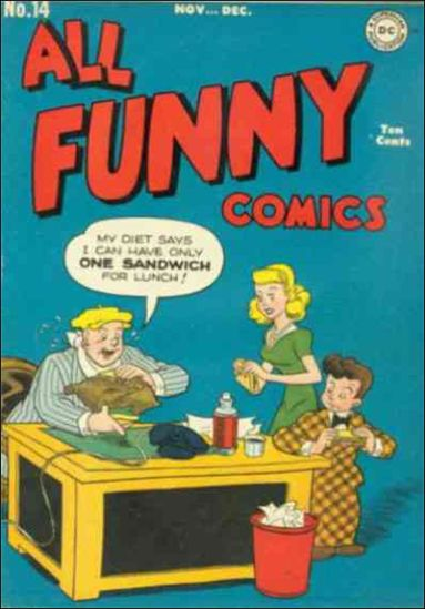 All Funny Comics 14-A by DC