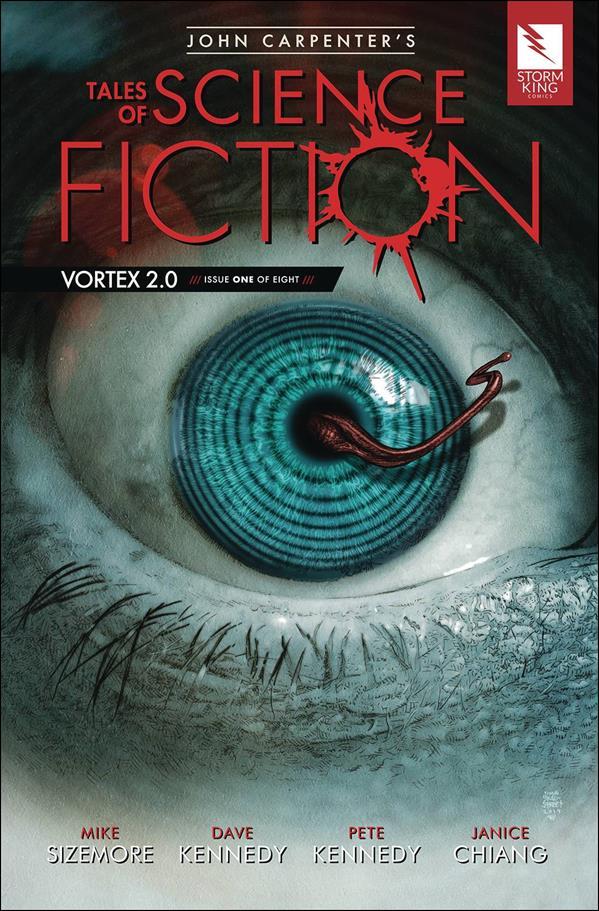 John Carpenter's Tales of Science Fiction: Vortex 2.0 1-A by Storm King Comics