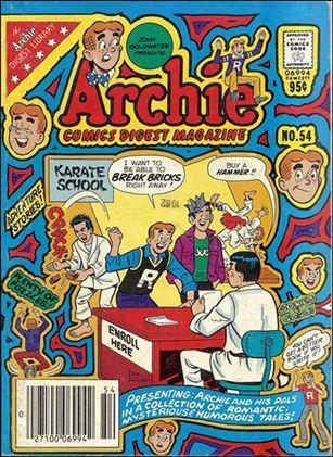 Archie Comics Digest Magazine 54-A