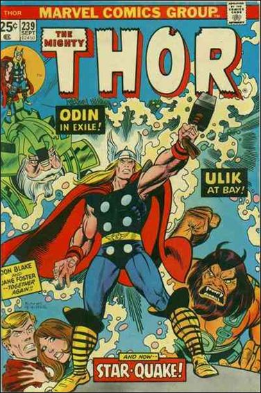 Thor (1966) 239-A by Marvel