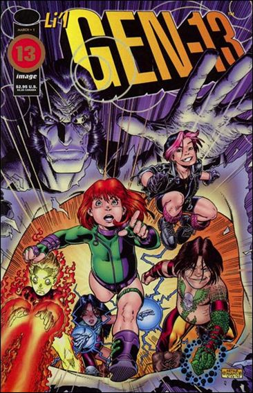 Gen13 (1995) 1-C by WildStorm