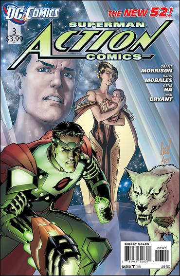 Action Comics (2011) 3-B by DC