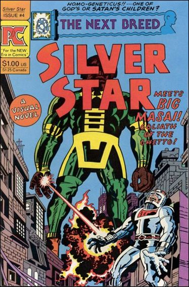 Silver Star (1983) 4-A by Pacific Comics