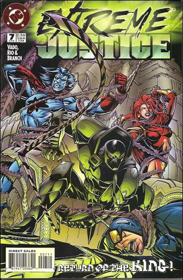 Extreme Justice 7-A by DC