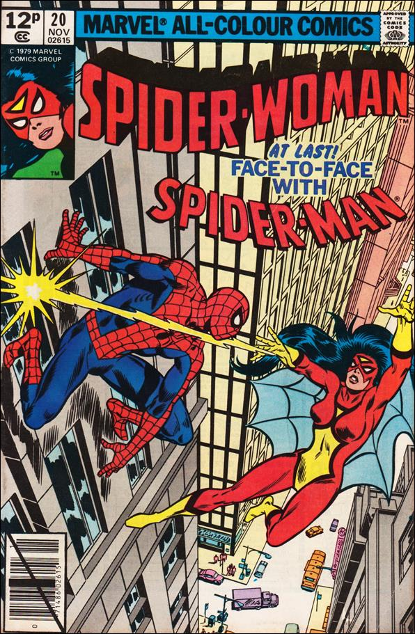 Spider-Woman (1978) 20-B by Marvel