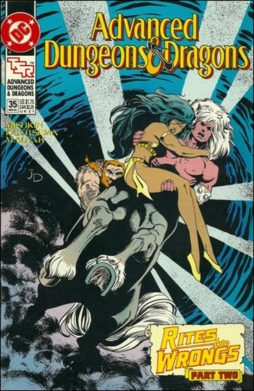 Advanced Dungeons & Dragons 35-A by DC