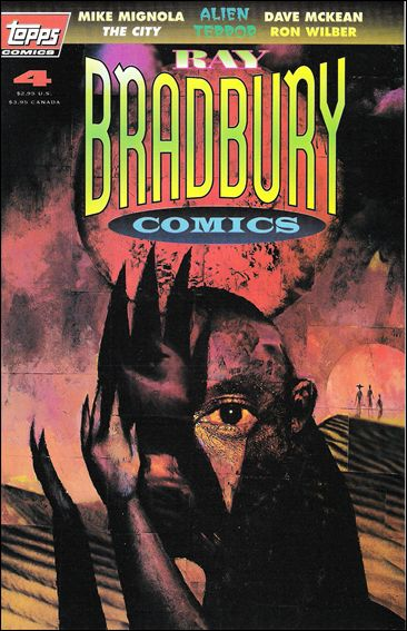 Ray Bradbury Comics 4-A by Topps