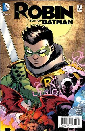 Robin: Son of Batman 3-A