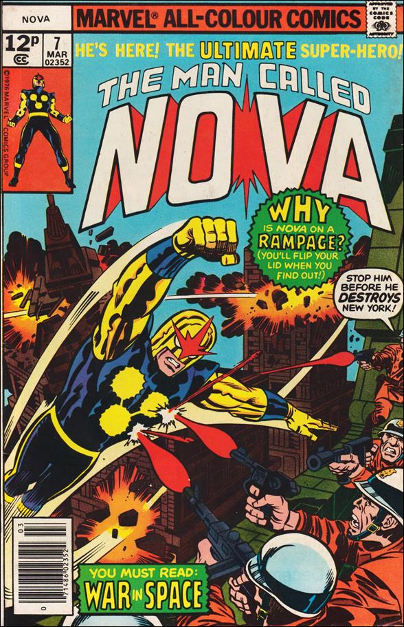 Nova (1976) 7-B by Marvel
