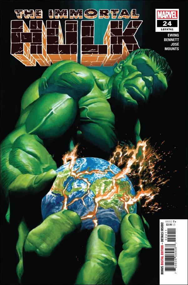 Immortal Hulk 24-A by Marvel