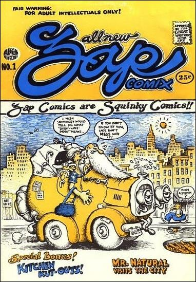 Zap Comix 1-A by Last Gasp