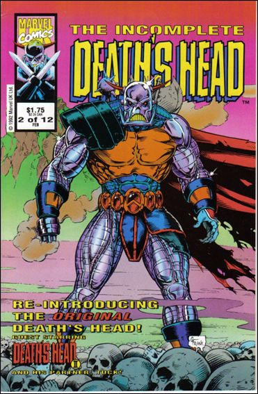 Incomplete Death's Head (UK) 2-A by Marvel UK