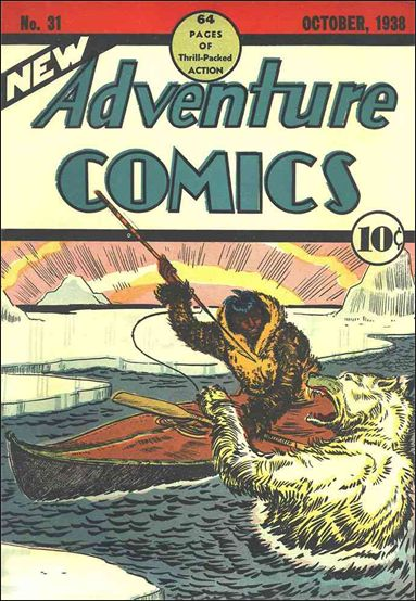 New Adventure Comics 31-A by DC