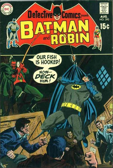 Detective Comics (1937) 390-A by DC