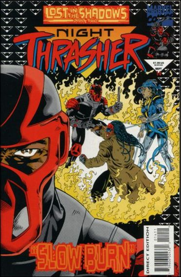 Night Thrasher 14-A by Marvel