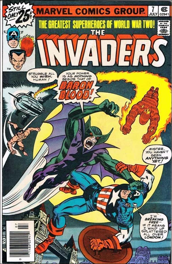 Invaders (1975) 7-A by Marvel