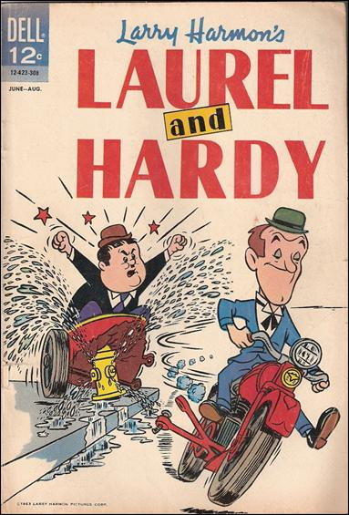 Laurel and Hardy (1962) 3-A by Dell