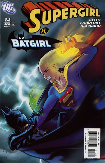 Supergirl (2005) 14-A by DC