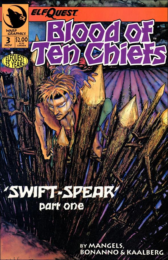 Elfquest: Blood of Ten Chiefs 3-A by Warp Graphics