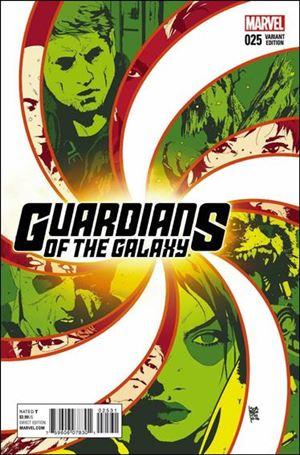 Guardians of the Galaxy (2013) 25-C