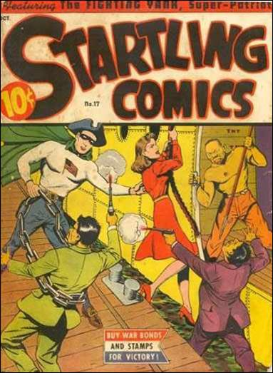Startling Comics (1940) 17-A by Nedor